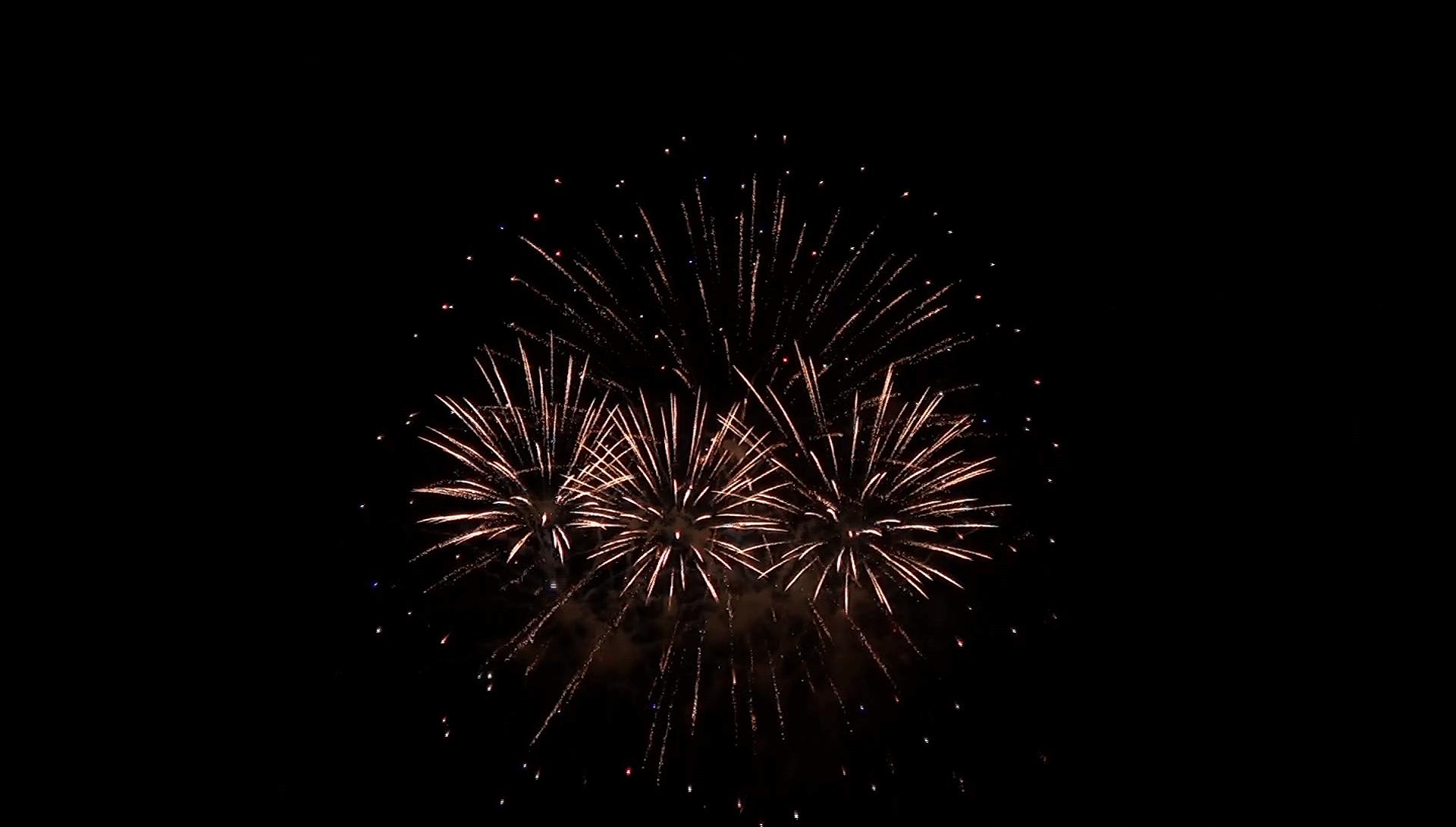 Fährfest Caputh Feuerwerk